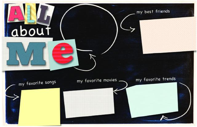 Looking for ideas to fill extra layout pages award pages all about me small pronofoot35fo Choice Image